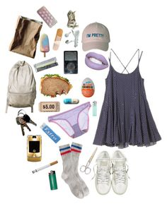 """"""".4"""" by meeeki ❤ liked on Polyvore featuring J.Crew, Converse, OnGossamer and Rosenthal"""