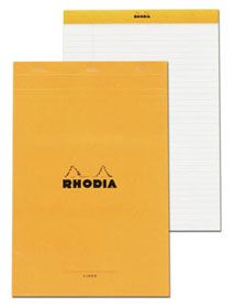 Exaclair Rhodia 6 X 8 1/4 Lined With Margin