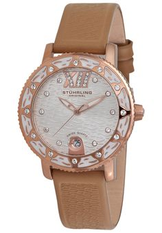 Price:$105.10 #watches Stuhrling Original 225.1145K2, Created in a blend of fashion and class, this Stuhrling timepiece exhibits a bold style that adds flare to your collection.
