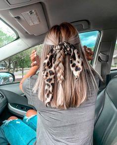 Baddie Hairstyles, Scarf Hairstyles, Pretty Hairstyles, Teen Hairstyles, Summer Hairstyles, Hair Inspo, Hair Inspiration, Good Hair Day, Hair Highlights