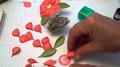 punch art calla lillies - YouTube