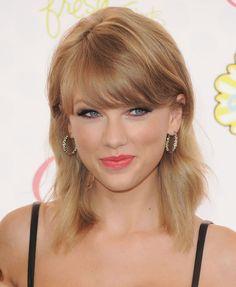 Taylor Swift's Feathery Lob