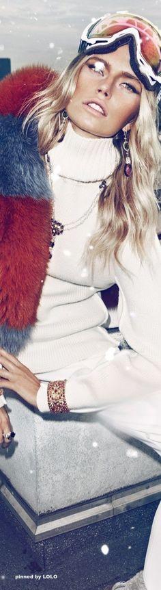 Winter fashion. V