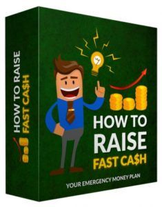 How To Raise Fast Cash  How Would You Like To Shortcut Your Way To Generating Quick Cash Online And Smashing It Like A Pro? Discover Fast And Easy Methods To Massive Funds Day In Day Out. No Experience. No Product. No Website!  These days it seems like everyone needs more cash. Unemployment is skyrocketing especially in the United States the economy is poor and finding a job in this market is harder than ever.  Submitted: 24 Aug 2016 File Size: 393 MB License: Master Resell Rights  Check How…