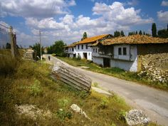 photo by Ufuk Özbulun Marble Columns, First World, Facade, Entrance, Country Roads, Paintings, History, House Styles, Building