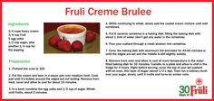 Cooking with beer: Fruli Creme Brulee Cooking With Beer, Eat Your Heart Out, Creme Brulee, Nom Nom, Favorite Recipes, Dishes, Cream, Baking, Custard