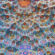 Islamic mosaic artwork in the mosque of Samarkand . Subscription-free stock image available for license. Mosaic Wallpaper, Mosaic Artwork, Islamic Art Pattern, Pattern Art, Cultural Patterns, Architecture Art, Classical Architecture, Arabic Art, Oriental Pattern