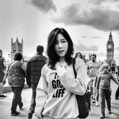 Taeyeon in london