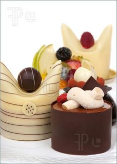 Gourmet French desserts