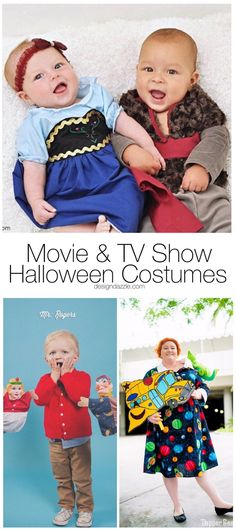 This post will shows 13 of my favorite movie and TV show themed DIY Halloween Costumes that you can quickly and easily make yourself! For both kids and adults! || Design Dazzle #halloweencostumes