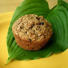 Happy Healthy Banana Muffins. No sugar or fat added, just fruit, whole grains and cinnamon.
