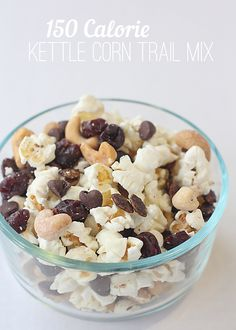 Your family won't be able to stop reaching for this sweet and salty Kettle Corn Trail Mix recipe, made with delicious Pop Secret Popcorn.