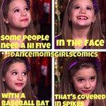 Dance moms comic lol