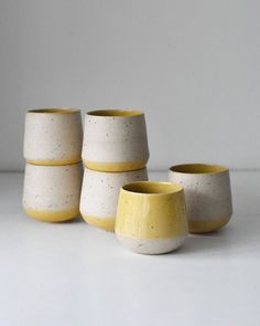 Danish Ceramic Mugs - TASJA P. CERAMICS - After working as an assistant at Tortus Copenhagen, Tajsa P. set out to start her own studio. Her work is functional and organic, always with a sense of lived-in cosiness thanks to her glaze work and soft shapes.