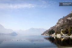 vista della Punta di Bellagio dalla Riva Bianca - Near Varenna B&B IL BOGNO · Via Genico, Lierna, Lombardia 23827, Itália