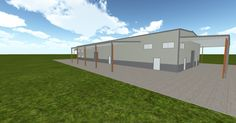 Cool 3D #marketing http://ift.tt/2dj0YoW #barn #workshop #greenhouse #garage #roofing #DIY