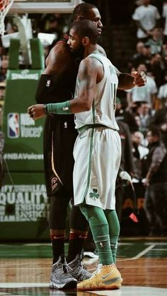 Kyrie Irving and Lebron James wallpaper