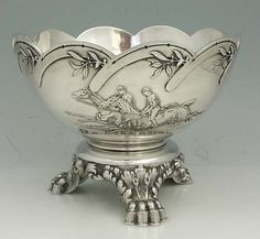 circa 1885 Whiting Sterling Horse Trophy