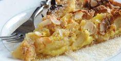 Είναι η πιο διάσημη τάρτα μήλου, η λεγόμενη Τάρτα Νορμανδίας. Apple Desserts, Apple Recipes, Cooking Recipes, Healthy Recipes, Chocolate Pies, Appetisers, Greek Recipes, Afternoon Tea, Macaroni And Cheese