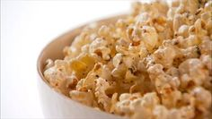 Popcorn with Herbs de Provence and Asiago Cheese