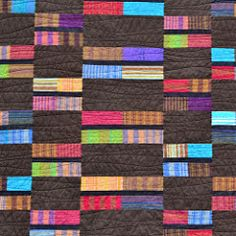 Your place to buy and sell all things handmade Plaid Quilt, Striped Quilt, Hand Quilting, Machine Quilting, Quilting Ideas, Different Shades Of Red, Man Quilt, Easy Quilts, Twiggy