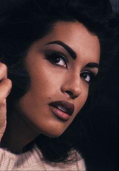 "mrstonymontana:  "" 80s-90s-supermodels:  ""Yasmeen Ghauri, early 90s  ""  Sweet jesus  """
