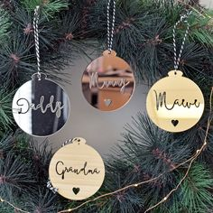 In this DIY tutorial, we will show you how to make Christmas decorations for your home. The video consists of 23 Christmas craft ideas. Diy Christmas Gifts For Family, Christmas Mood, Christmas Items, Christmas Crafts, Rose Gold Christmas Decorations, Personalised Christmas Decorations, Personalized Ornaments, Laser Cutter Ideas, Navidad Diy