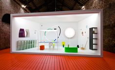 From the book: Installation view of 'Pierre Charpin au Grand-Hornu, vingt années de travail', Grand Hornu Images, 2011. Courtesy of Pierre Charpin Studio, Paris. Photography: Pierre Antoine