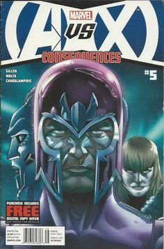 Marvel Avengers vs. X-Men comic issue 5