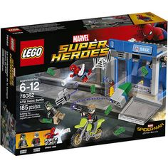 #LEGO #Marvel #SpiderMan Super Heroes ATM Heist Battle (76082) - http://www.thebrickfan.com/lego-marvel-super-heroes-spider-man-homecoming-official-images/
