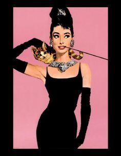 Audrey Hepburn & Breakfast at Tiffanys ♥