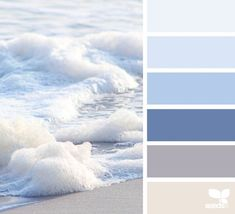 Design Seeds + Color Atlas by Archroma® Bedroom Paint Colors, Paint Colors For Home, House Colors, Bathroom Colors Blue, Pastel Paint Colors, Blue Colour Palette, Colour Schemes, Paint Schemes, Color Blue