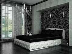 Beautiful Bedroom Designs! [ SpecialtyDoors.com ] #bedroom #hardware #slidingdoor