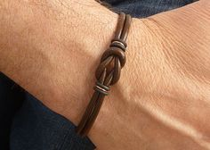 Unisex Brown Copper Mini Celtic Infinity Knot by siriousdesign, $19.00