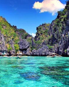 El Nido, Philippines... The beauty of El Nido is almost surreal: Endless white beaches, crystal clear waters and an underwater world, that will take your breath away. A destination that truly looks like paradise.
