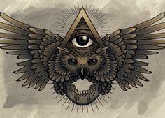 All Seeing Owl - Totem Spirit