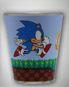 Sonic Rings Shot Glass