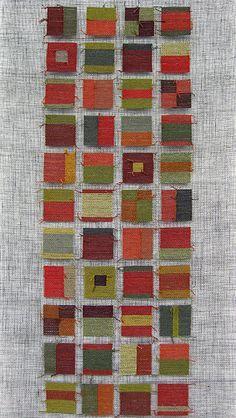 Tapestry on gauze; detail; silk & linen   Flickr - Photo Sharing!