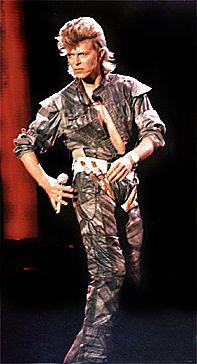 David Bowie 1987 | David Bowie - 08/07/1987 - Glass Spiders Tour - Spartan Stadium ...