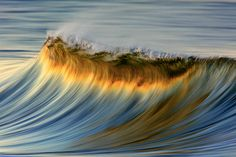 """The ... dizzy in the photo too beautiful that can not be taken again """"wave dressed in gold"""""""