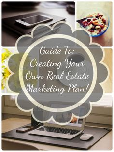 Guide To Creating Your Own Real Estate Marketing Plan! Very simple and easy to act on.   #marketing #realestate #realtor
