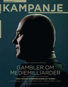 Kampanje, 3 2012. Nominert til årets forside.
