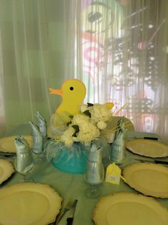 Yellow Duck Baby Shower Baby Shower Duck, Yellow, Event Organization, Art