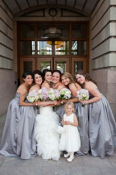 A lovely formal bridesmaid look for a vintage inspired wedding