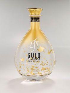 Gold Flakes Supreme vodka