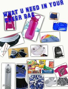 What you need in your cheer bag