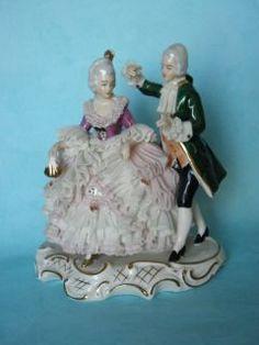 Collectible Figurines | ... Figurine Dancing Couple Vintage Collectibles Decorative Collectibles
