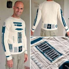 R2D2 Knitted Sweater