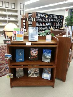 FYS Display in the Periodicals area at SLC