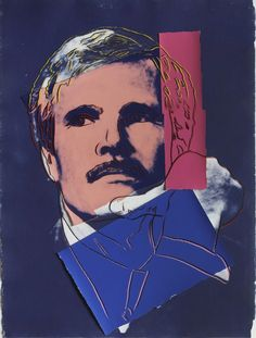Ted Turner | Andy Warhol, Ted Turner (1986)